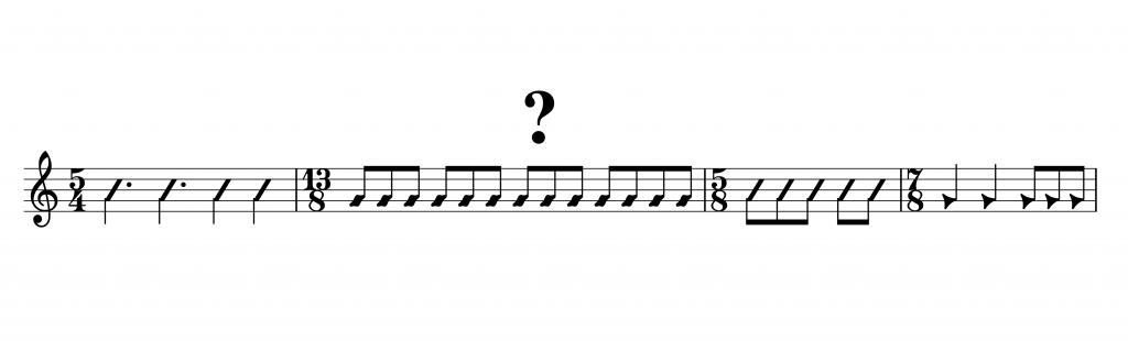 ungerade Taktarten Klavierunterricht Seeheim