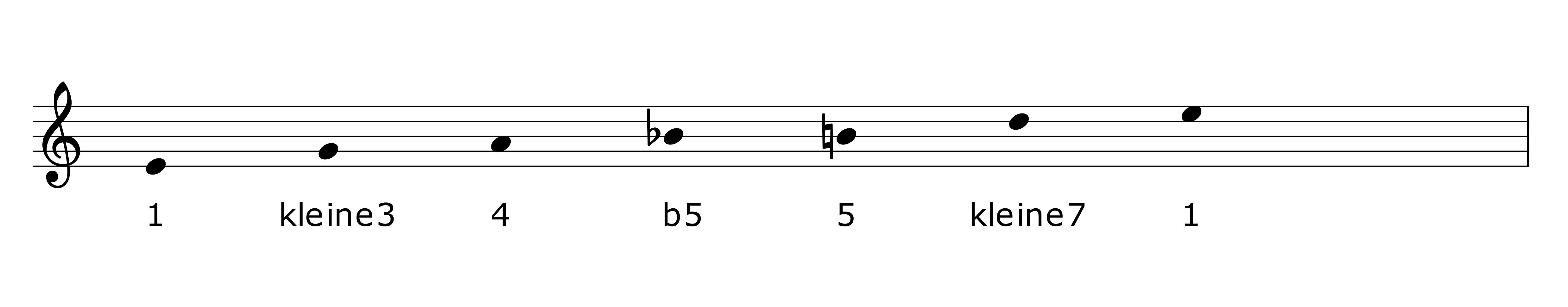 Bluestonleiter in E Seeheim-Jugenheim