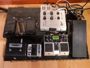 Floorboard für die Hammondorgel