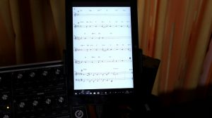 Klavierunterricht Seeheim-Jugenheim Tablet