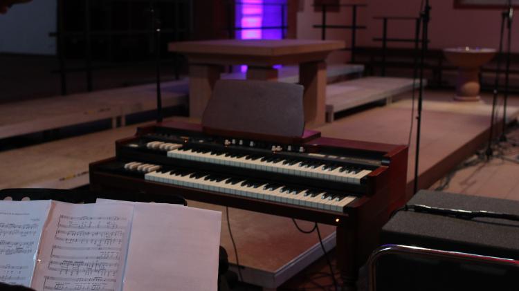 Klavier und Orgel in Gross Umstadt