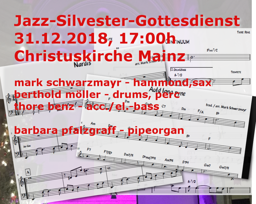 Jazz Gottesdienst Mainz Jazz Klavierunterricht Mainz
